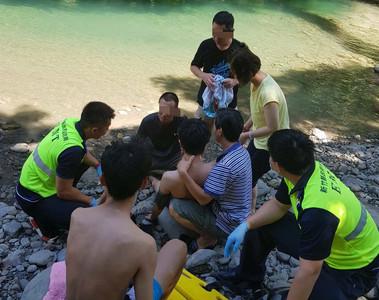 溺水無呼吸 線上CPR成功救人