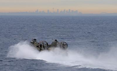 美日澳聯合軍演 中國派「高科技軍艦」監視