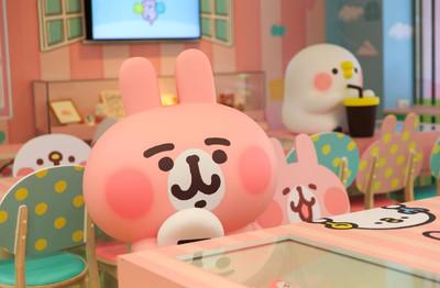 免費跟粉紅兔兔、P助狂拍照!小7「卡娜赫拉的小動物」聯名店來了