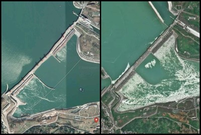 秀衛星照破解「三峽大壩變形」謠言