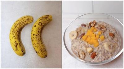 懶人也要模特兒身材!  超營養早餐「香蕉燕麥粥」10分鐘吃到美