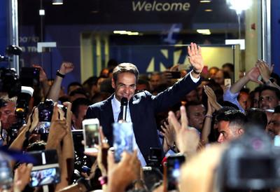 希臘國會變天 新總理曾裁萬名公務員