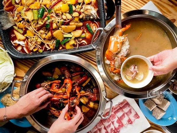 每日限量!高雄川辣道麻辣鍋物    吃得到烤魚、現撈小龍蝦