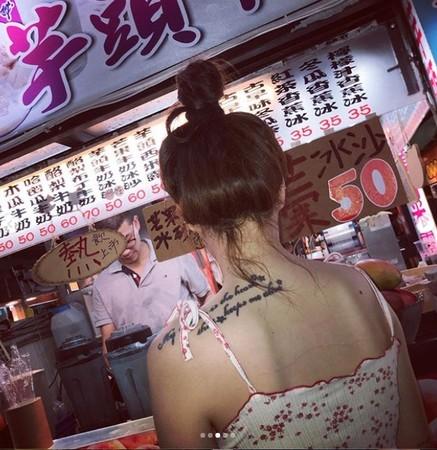 ▲泫雅逛瑞豐夜市。(圖/翻攝自Instagram/泫雅)
