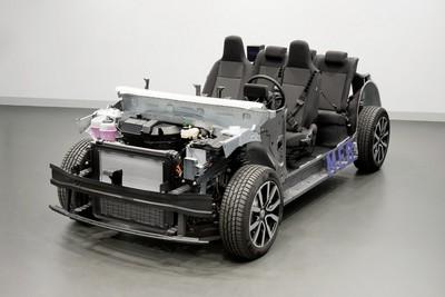 福特、福斯共享電動車、自駕技術