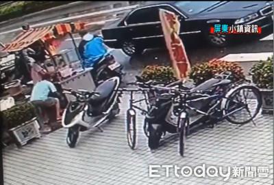 駕駛疑BMW贓車偷阿嬤現金 民眾罵卒仔