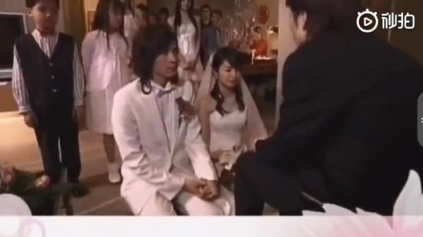 ▲《惡作劇之吻》直樹湘琴結婚VCR被翻出熱議。(圖/翻攝自秒拍)
