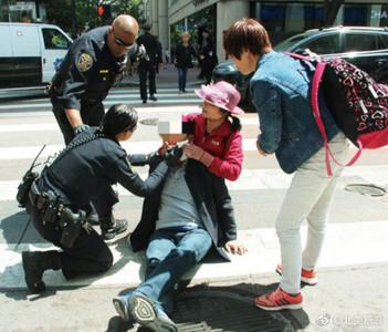 3名陸客舊金山市區遇暴打 非裔嫌犯被捕