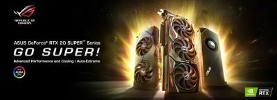 華碩RTX SUPER系列電競顯示卡發售