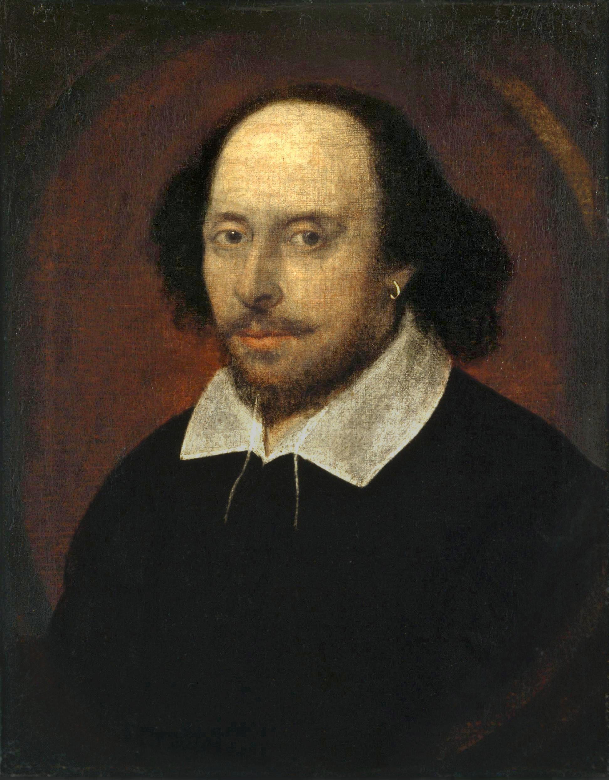 ▲▼莎士比亞。(圖/翻攝自維基百科)