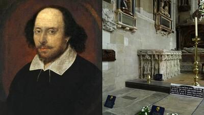莎士比亞成謎的一生:途中10年人間蒸發 死後墓碑上還刻詛咒