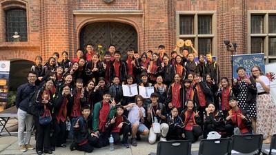 台北愛樂少年及兒童合唱團勇奪雙金