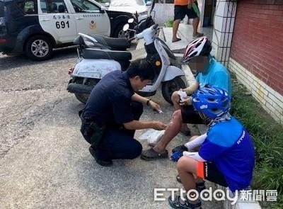 慶祝孩子國小畢業 挑戰單車環島旅遊…被曬傷