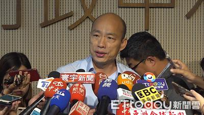AIT憂傾中 韓國瑜:我最愛台灣