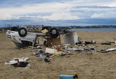 暴風襲擊希臘北部!6死百人傷