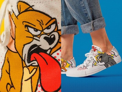 《湯姆貓與傑利鼠》聯名鞋全台開賣