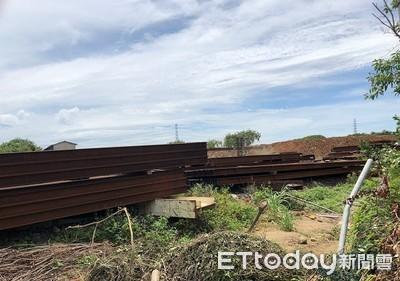 世紀鋼構違法回填農地 遭市府重罰30萬