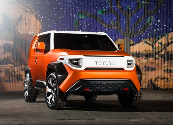 北美豐田將推出新SUV 方正越野的FT-4X概念車有望量產?