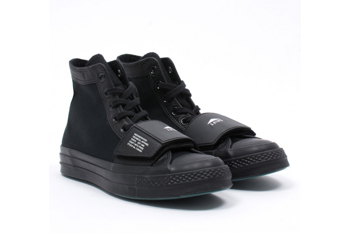 ▲Converse X NEIGHBORHOOD。(圖/翻攝自NIGRAMERCATO 、Adidas、Nike)
