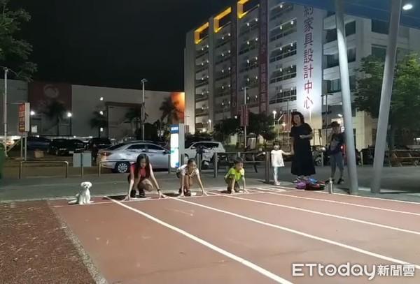 瑪爾濟斯聽到「開始」奮力衝! 跑贏田徑隊成員得第一