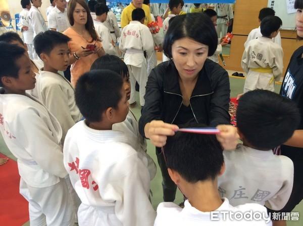 全國小學柔道賽328位菁英台東競技 日本柔道會率隊交流