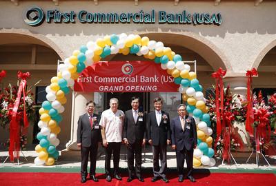 美國第一銀行 奇諾崗分行開業