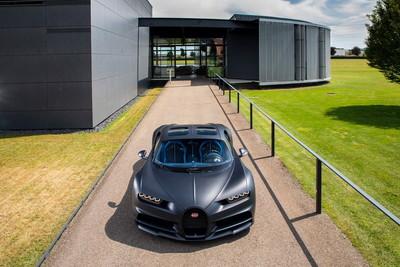 第200台Bugatti Chiron正式下線