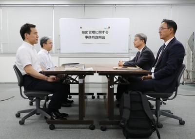 日韓貿易戰首場實務會議各說各話