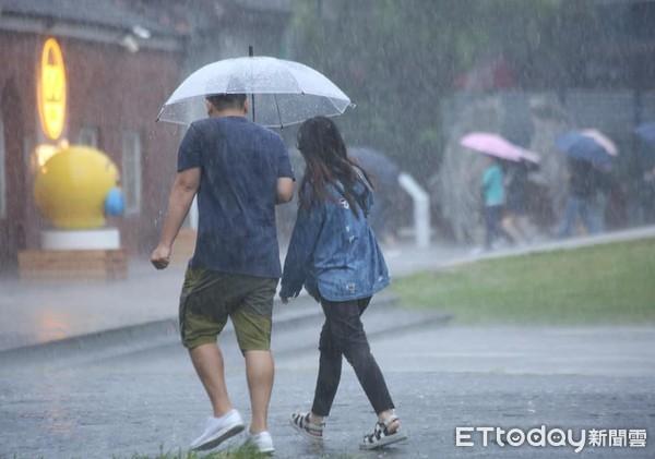 更新/下班課注意!雨勢升級 北北基14縣市豪、大雨特報