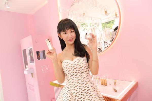 「DV TOKYO」華山快閃店開幕 翔宇旗下美容保養品搶進電商