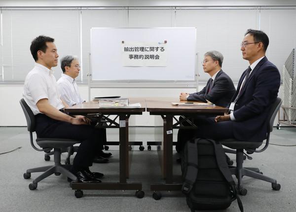 日韓貿易戰首開實務會議「各說各話」 韓媒:日本無意協商