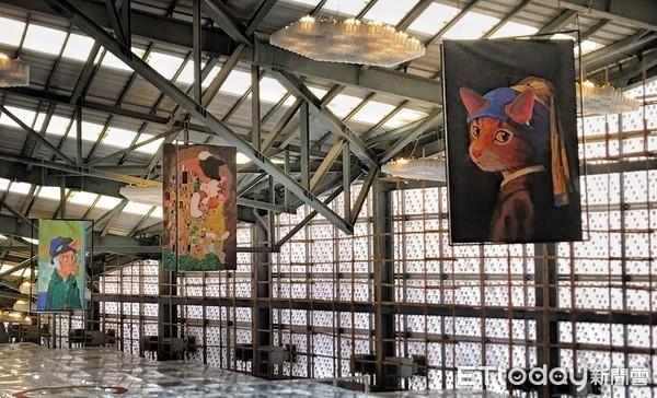 ▲貓美術館。(圖/北市產業局提供)