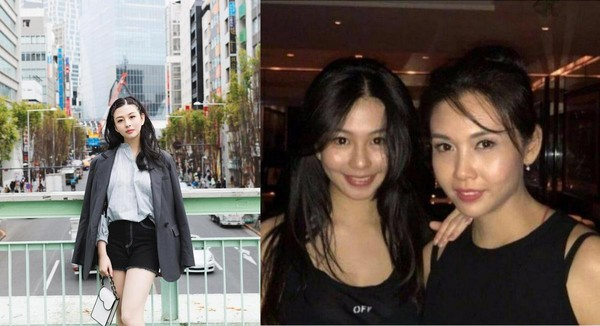 邱淑貞的大女兒沈月被網友讚為「最靚星二代」。(合成沈月IG)