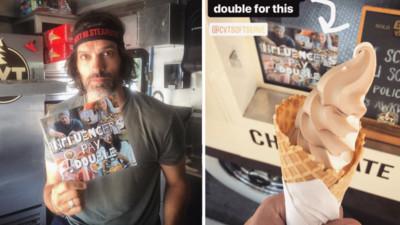 連冰淇淋都不願意買?受夠網紅貪小便宜行徑 老闆怒了:網紅付雙倍