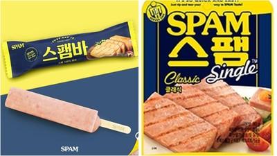 挑戰鐵胃極限「午餐肉冰棒」韓國人想配飯! 玩笑可望真上架