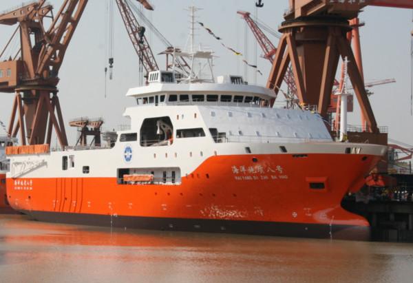 「海洋地質8號」重返南沙萬安攤 越南派出「阮惠號」護衛艦緊跟