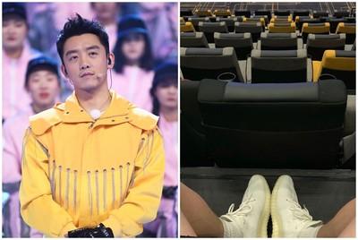 鄭愷電影院翻拍《獅子王》PO網!被轟爆刪文 網心疼放大「照片右上角」平反