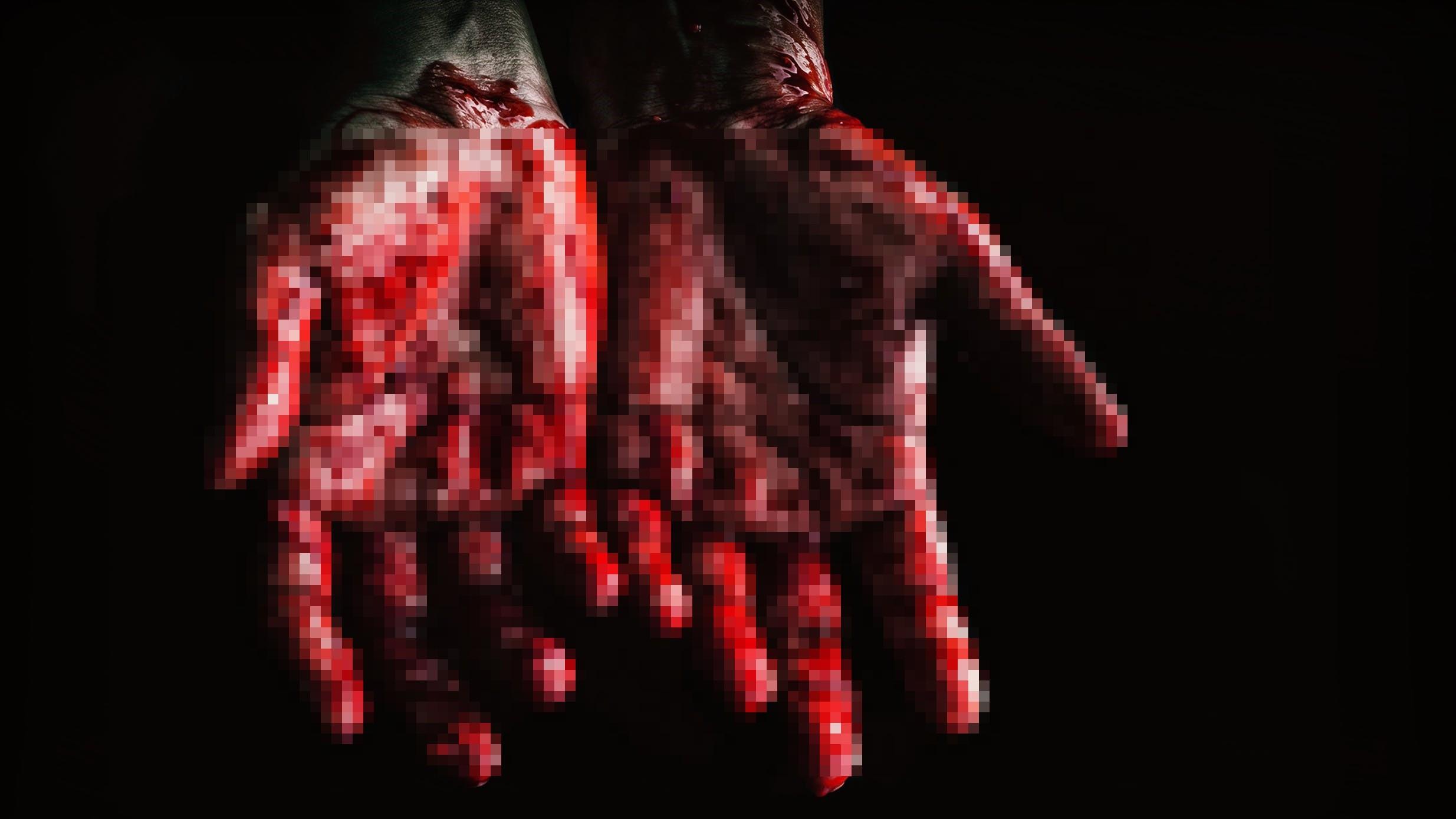 ▲▼充滿血跡的手。(圖/取自免費圖庫Pexels)