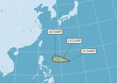 準丹娜絲逼近!氣象局不排除發颱風警報