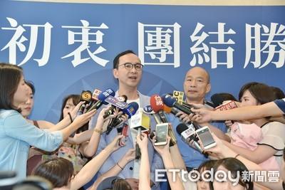 韓朱密切聯繫 朱立倫:談郭台銘退選後解爭議