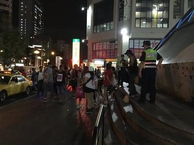 台中傳警驅趕移工 市警局回應了
