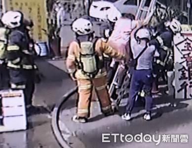 消防員火場救出8歲男童 竟是8年前親手接生