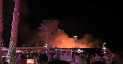 歐洲最大音樂節大火 狂歡人群竄逃
