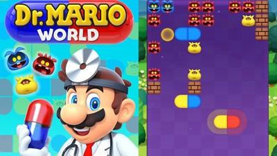 任天堂最新手遊!經典益智遊戲《瑪利歐醫生世界》 排列膠囊消滅病毒