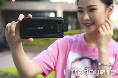 手機鏡頭任你翻轉!ASUS ZenFone 6「自由取景模式」拍出搶眼美照