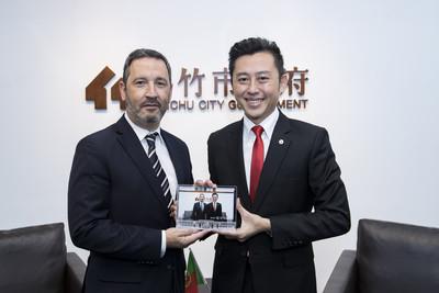 城市外交再出擊 葡萄牙國會首訪竹市