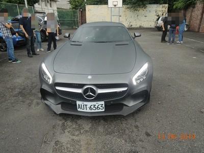 台中地檢署拍賣名車中有AMG GT S