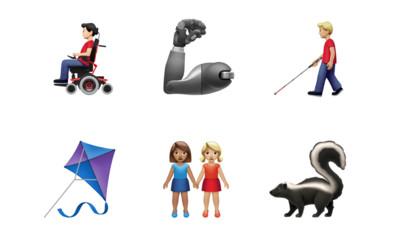 蘋果新表情符號 義肢、多元性別、紅鶴皆現身