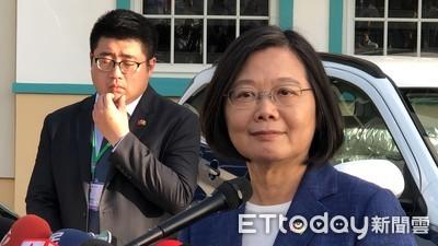 國民黨批「帶職參選」 蔡英文傻眼:國民黨連任的總統怎麼說?