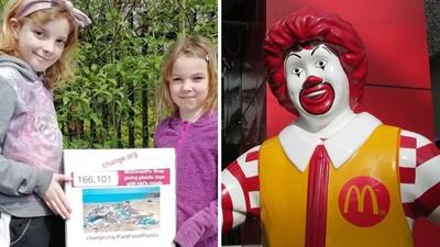 7歲女童寫信給麥當勞:別再送塑膠玩具!「為地球請願」獲40萬連署支持